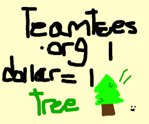 #TEAMTREES is the best