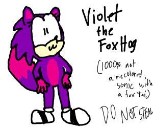 """Original"" Sonic Fan Character"