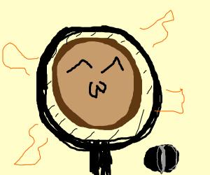 A Happy Pancake