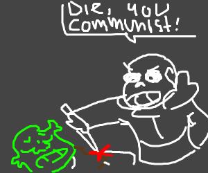 sans undertale murders communist shrek