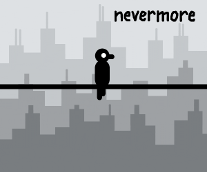 Raven says nevermore instead of bless you