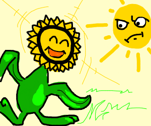 Sun annoyed it activated sunflora's ability