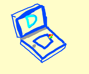 a drawception DS game