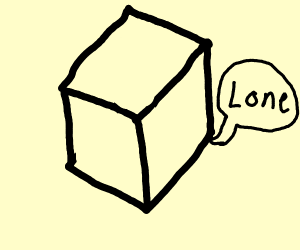 Cube says lone