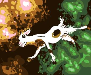 Interdimensional goat