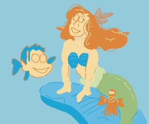 the little mermaid (disney)