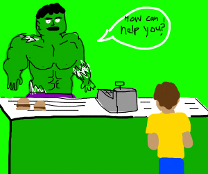 Hulk asks what you want