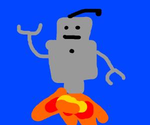 Rocket Robot Blast-Off