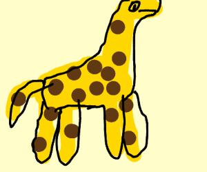 Dr. Seuss style Giraffe
