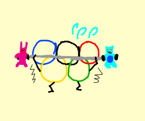 Weight lifting in the Olympics