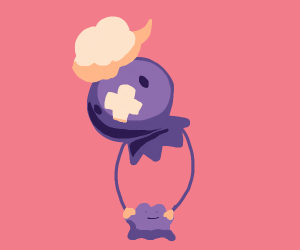 Drifloon holds a Ditto