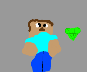 minecrafter locates the chaos emerald
