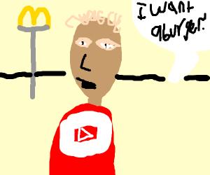 Jake wants a burger