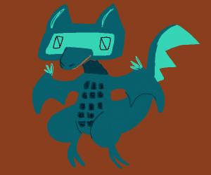 Calculator dragon (THAT LOOKS AMAZING!)