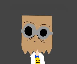 Dr  Flug from Villainous - Drawception