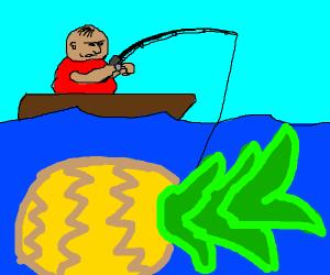 Reeling in a Pineapple