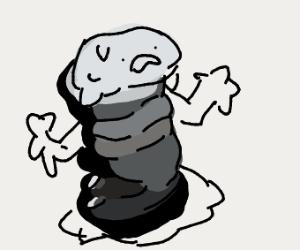 Melting goo man