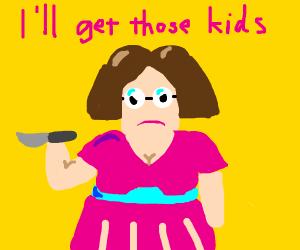 Miss Applegate Planning A Murder