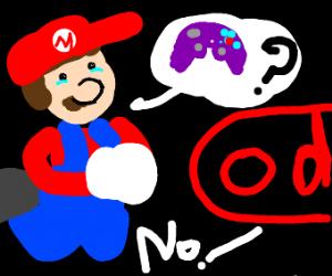Mario begs Nintendo for Gamecube controller