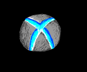 Xbox but the logo is blue