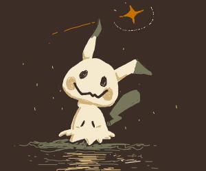 Mimikyu does nothing at all