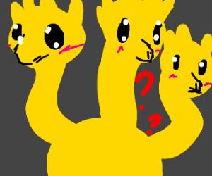 Cute Confused Hydra