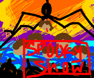 stranger things but its called spooky show