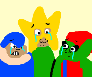 me and the boys grieving over loss of friend