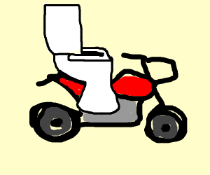 that's not how bikes or toilets work