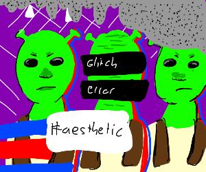 Shrek aesthetic