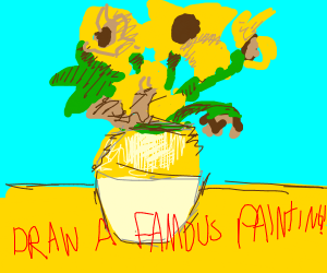 Draw A Famous Painting! (Last was Scream)