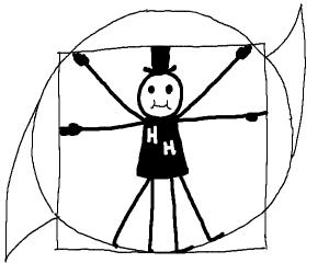 Hurricane Harry Vitruvian Man (drawn by Ehmn)