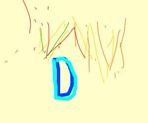 Drawception D under fireworks