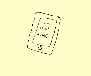 Fisher Price iPod
