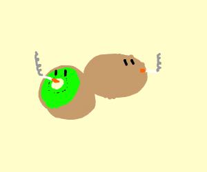 A smokin' kiwi