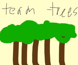 Plan to plant a million trees