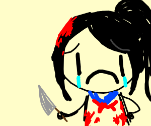 When Senpai doesn't notice you on Yandere Sim