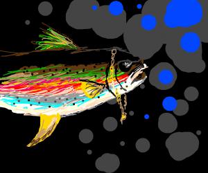 Gaudy Rainbow Trout