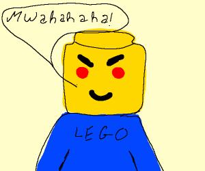 Evil legoman