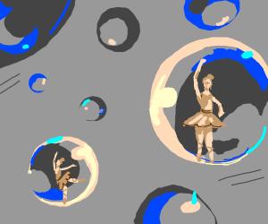 buble ballet dancer