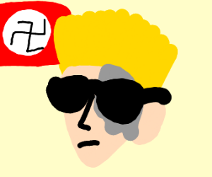 Nazi with glasses