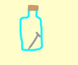 Nail in a Bottle