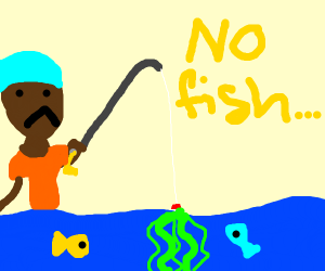Gone Fishing, caught weeds