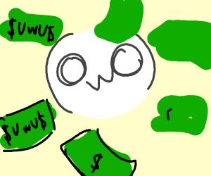 Wining MONEY OwO 1$