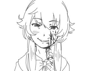 Killer anime girl