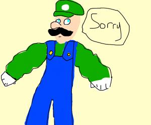 Buff Luigi apologizes