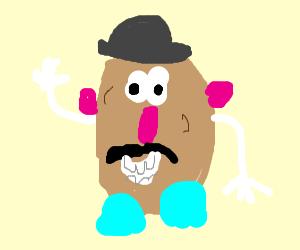 potato head but he a black guy