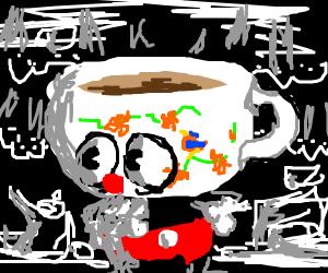 Teacup-head