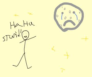 Moon getting shamed