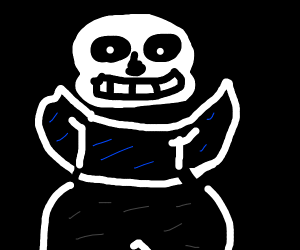 sans but he THICC